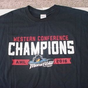 AHL Hockey Lake Erie Monsters Cleveland shirt 2x